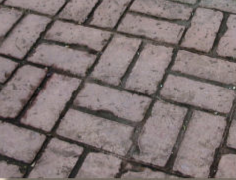 Brickwork — imitating herringbone, basketweave, etc.