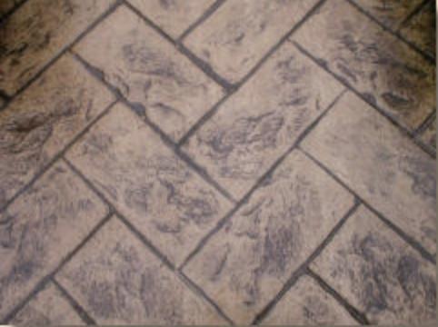 Tiled — mimicking square, rectangular and/or octagonal tiles