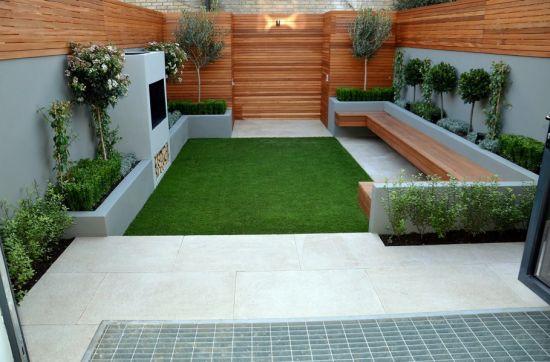 Landscape style ideas for little backyards