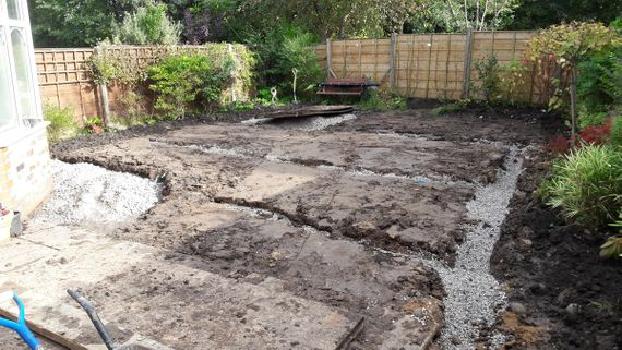 How to enhance garden drainage