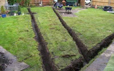 What's the very best garden drain system?