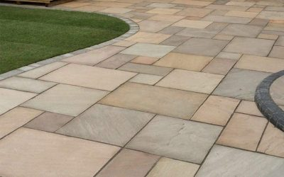 How is Indian sandstone made?